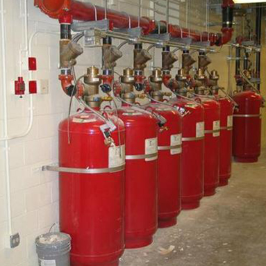 Halon Fire Suppression Cylinders